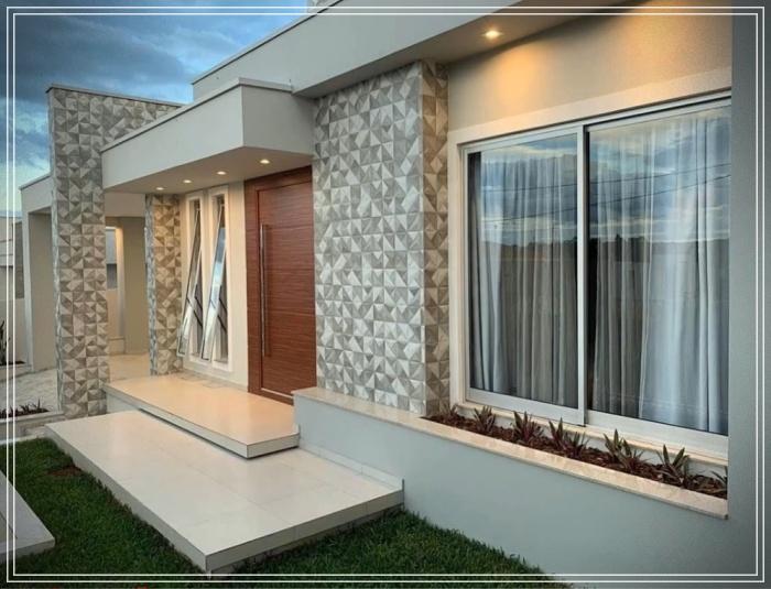 Fachadas de casas en piedra