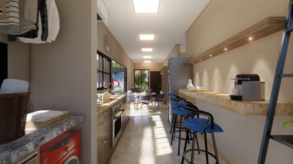 6x12 meter house plan