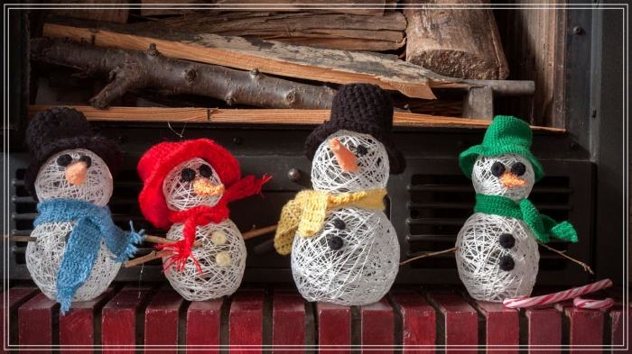 Cómo hacer un muñeco de navidad con globos