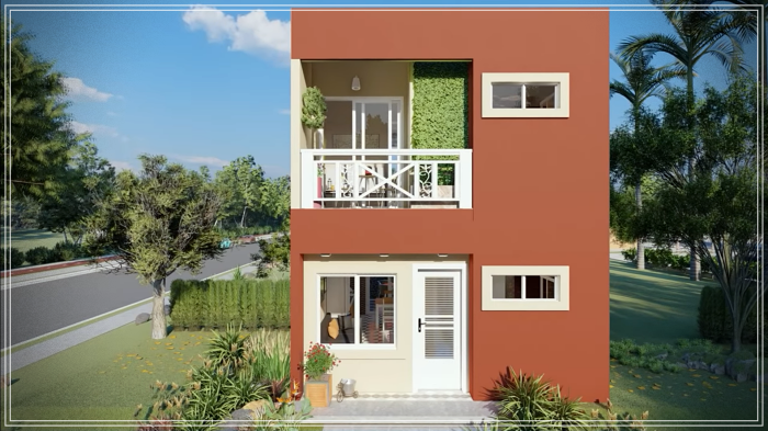 HOUSE OF 5X7 METERS WITH 3 BEDROOMS