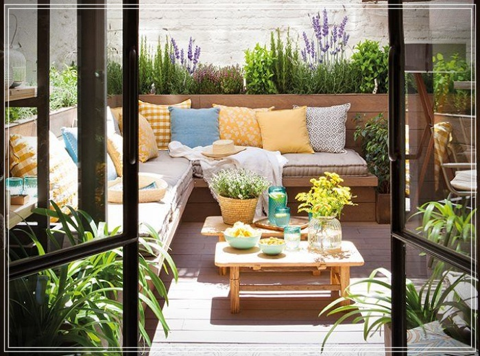 IDEAS TO DECORATE SMALL PATIOS