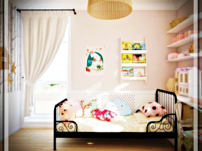 Modern youth bedroom