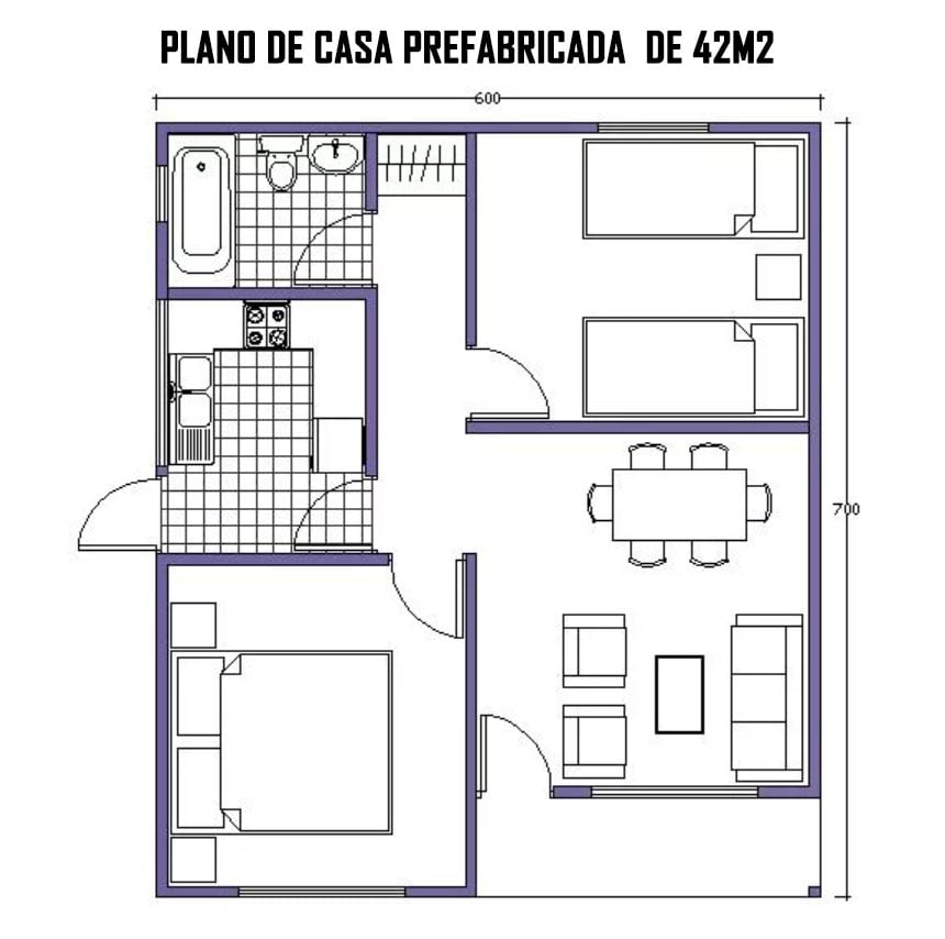 Planos de casas prefabricadas