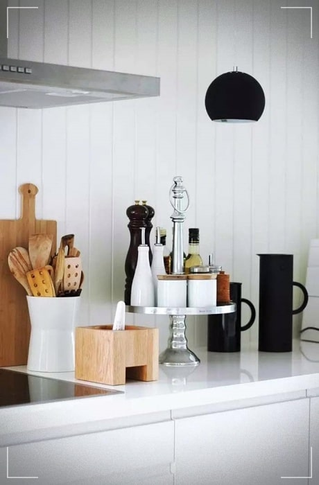 ideas for ordering the kitchen